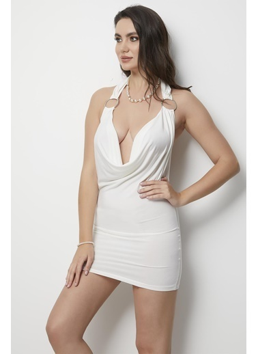 Miorre Ev Elbisesi Beyaz